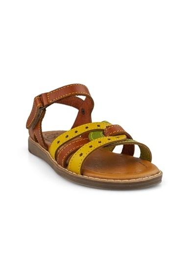 Cicibebe Kız Çocuk Sandalet Taba
